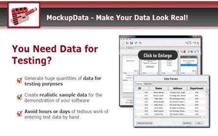 Mockup Data