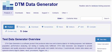 Test Data Generator 3