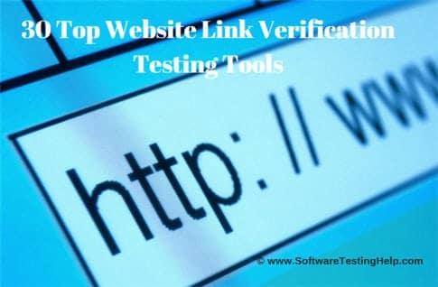 Website Link Verification Testing Tools