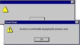 error categories 1