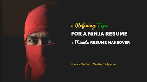quick resume tips