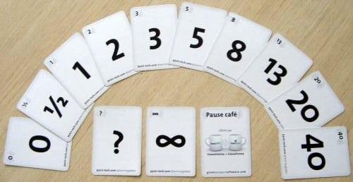 Planning Poker Scrum Poker Cards An Agile Estimation
