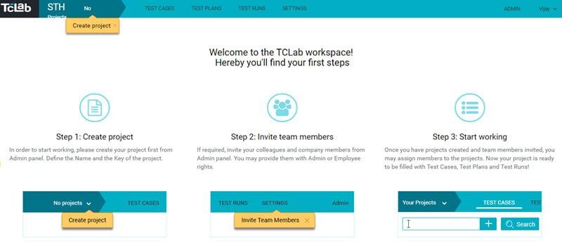 Test Case Lab Dashboard