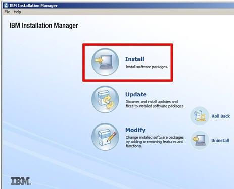 Installation manager