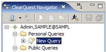 Personal Queries folder