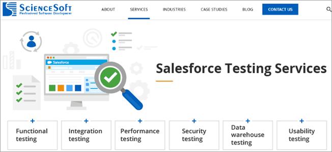 ScienceSoft - Salesforce Testing