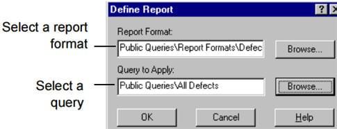 report format 1