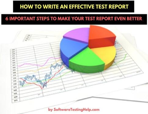 write-test-report