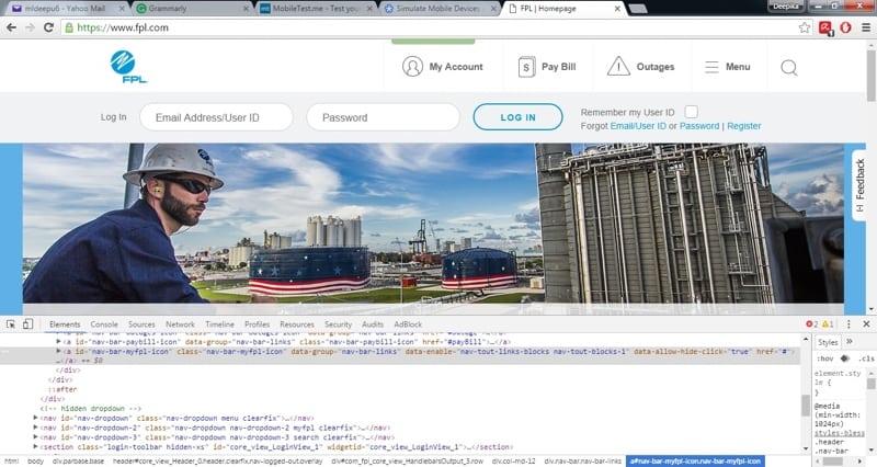 Chrome Dev Tools 1