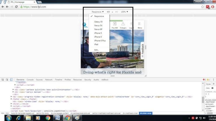 Chrome Dev Tools 3