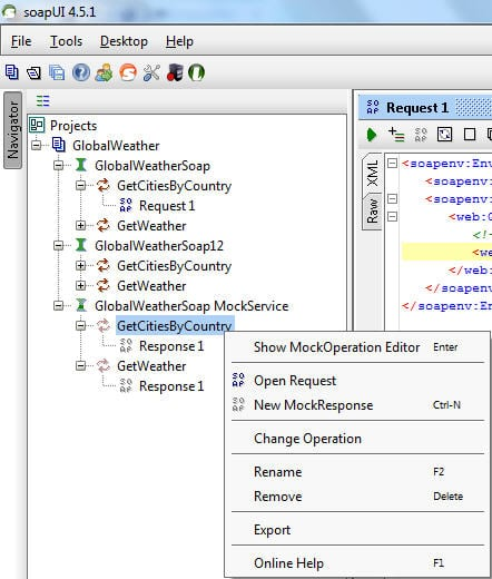 How to Create Mock Service and Dynamic Response in SoapUI