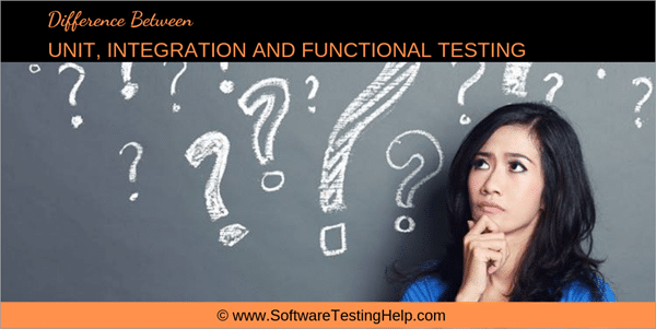 Unit, Integration and Functional Testing