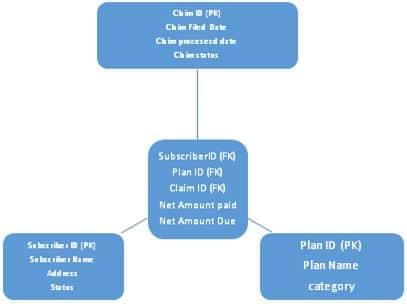 The ER diagram