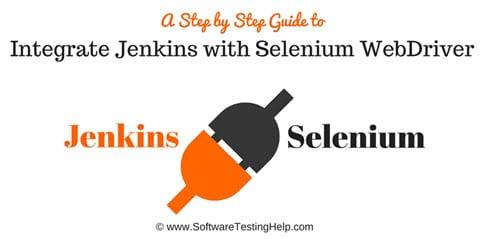 Integrat Jenkins with Selenium WebDriver
