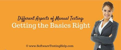 Manual Testing Tutorials