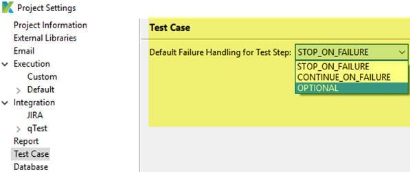 Built-in error handling