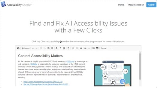 Accessibility Checker Logo