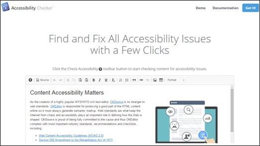Accessibility Checker Logo