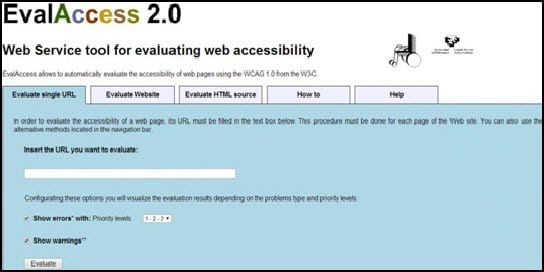 EvalAccess 2.0