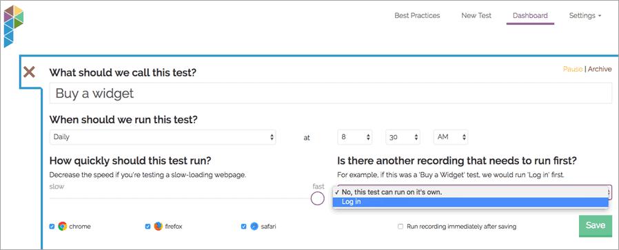 setting-test-dependencies Parrot QA