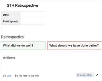 Run a Retrospectives