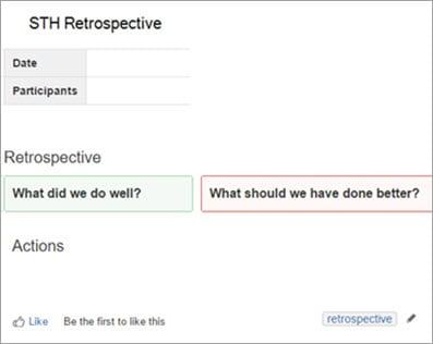 Run a Retrospectives