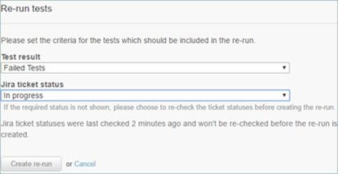 Re-Run Test
