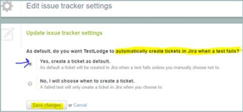 Edit Issue Tracker