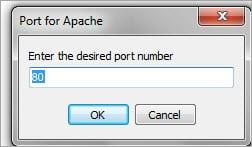 Change Port Screen