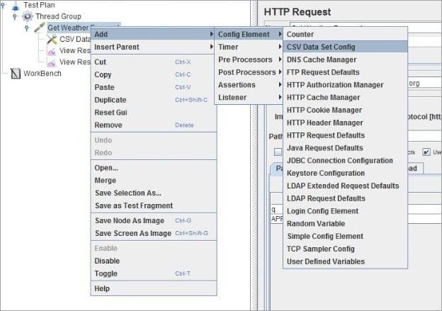 Adding CSV Data Config