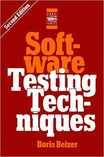 Software Testing Techniques Book