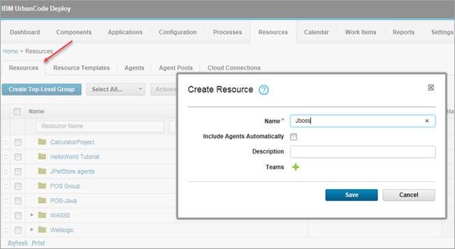 Create Resource