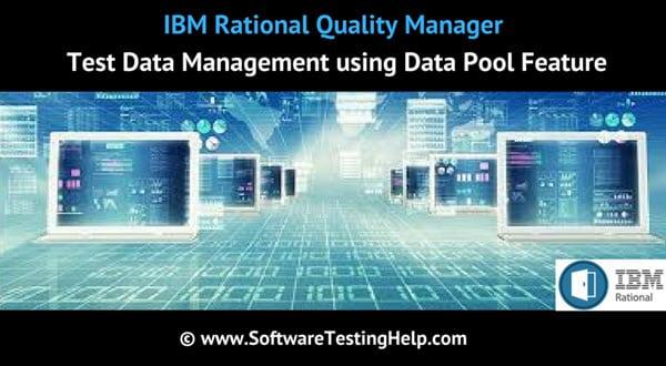 IBM RQM Test Data Management