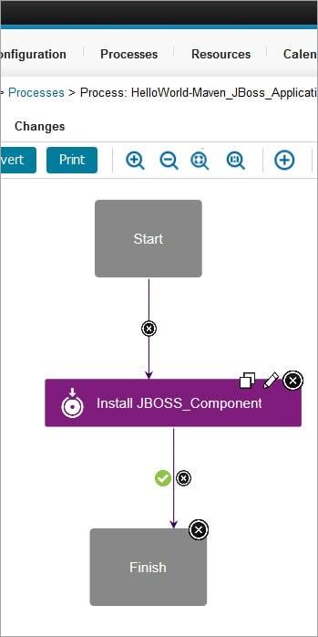 Install JBoss Component