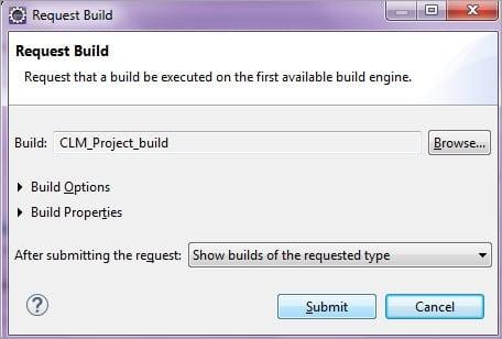 Request Build