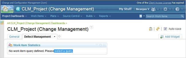 Select Query Screen