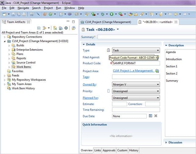 Task Screen