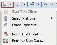 Select Test Platform