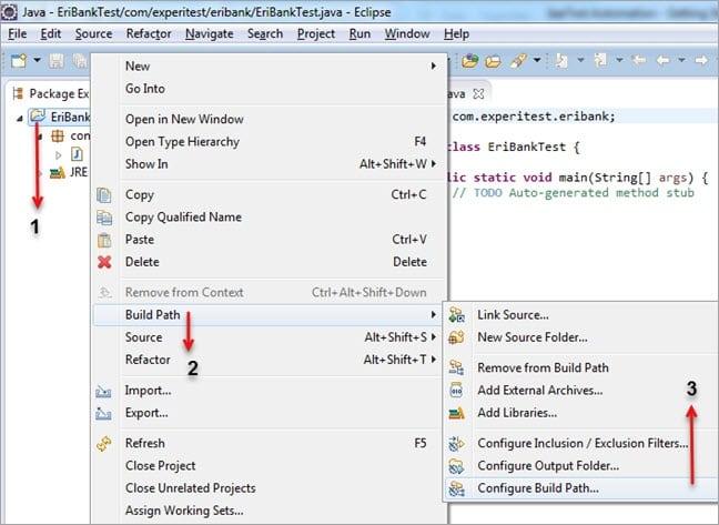 Configure Buildpath