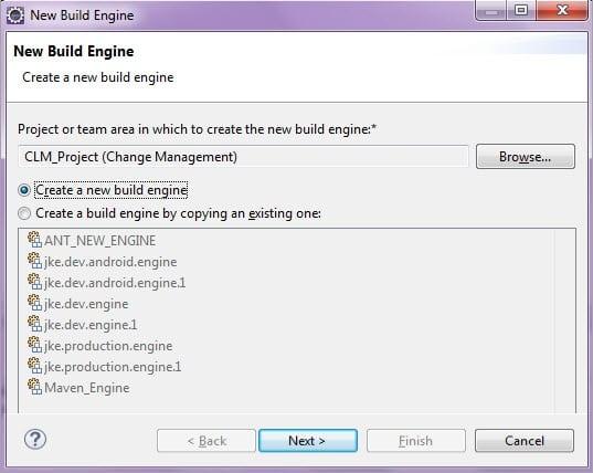 New Build Engine
