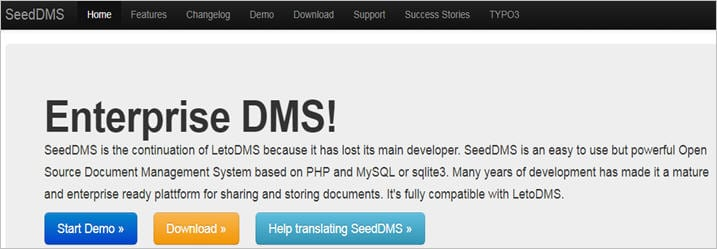 Seed DMS