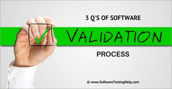 Software Validation Process