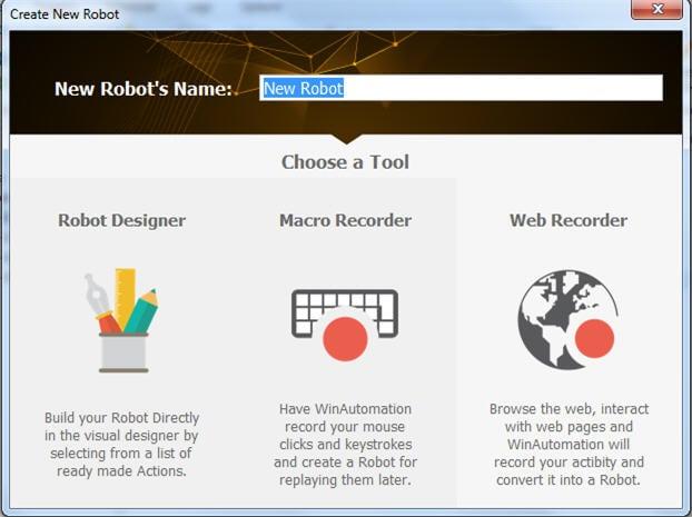 new robot eidt name