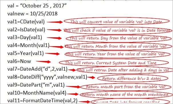 VBScript Date Functions: Date Format, DateAdd, and cDate Functions