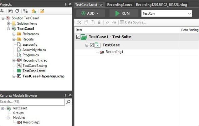 Create Test Suite