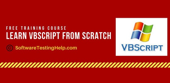 VBScript Tutorials: Learn VBScript From Scratch (15+ In