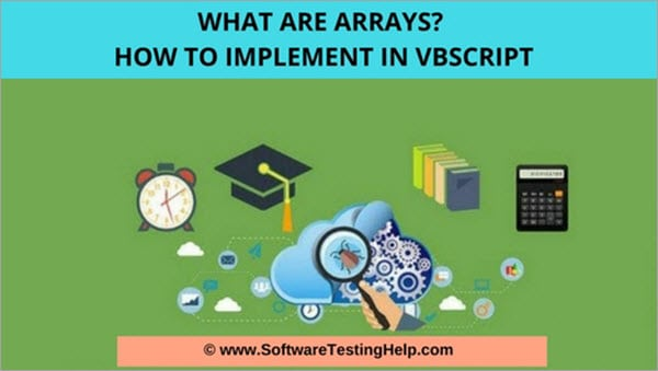 what are arrays in vbscript