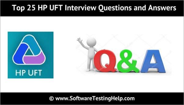 HP UFT Interview Questions