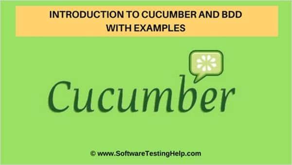 BDD And Cucumber Tutorial