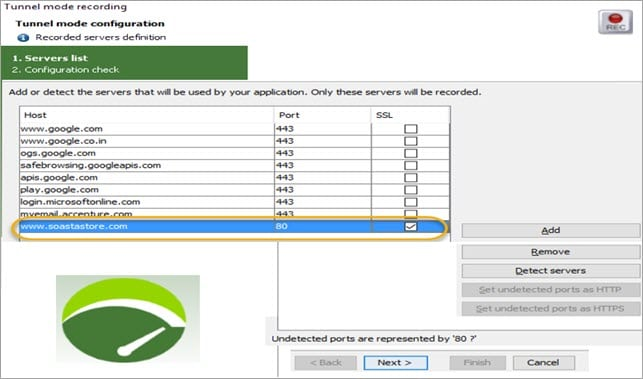 Selecting Application Host